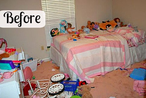 my little girl's room is organized . . . am i on a roll here? | a