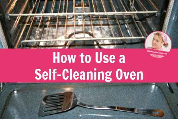 how to clean an oven without self clean