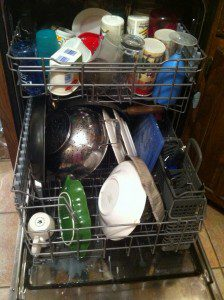 Dishwashing Rhythm – And My Lack of Cleaning Intuition