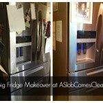 The Messy Fridge Makeover (Using Fun New Products from the Home Collection by Post-it Brand and Scotch Brand)