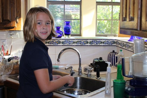 Cooking with My Daughter at ASlobComesClean.com