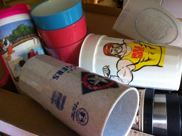 Plastic Cups Going Away at ASlobComesClean.com