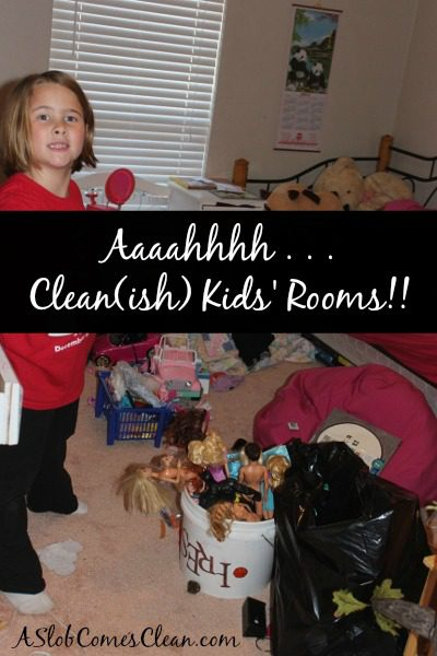 Photo - Decluttering with My Kids at ASlobComesClean.com