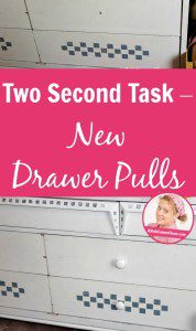 Two Second Task – New Drawer Pulls