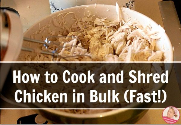 how to cook and shred chicken in bulk fast a slob comes clean. Black Bedroom Furniture Sets. Home Design Ideas