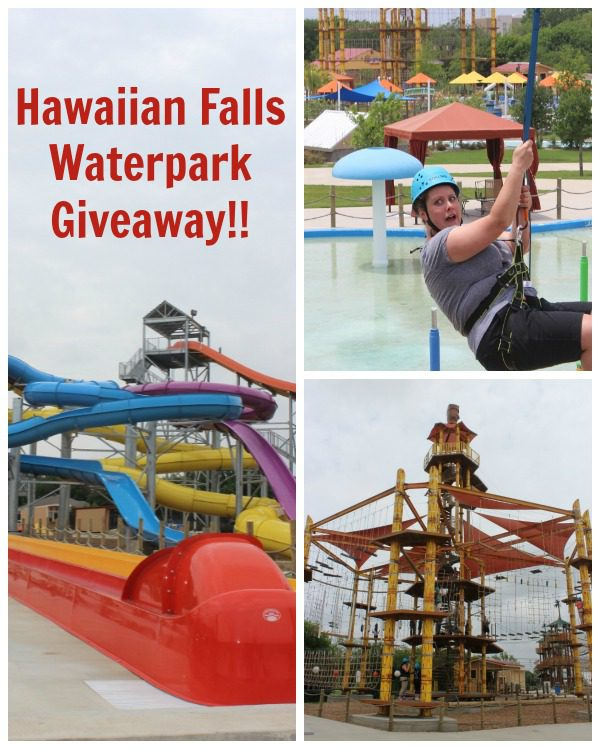 Family Four-Pack Hawaiian Falls Ticket Giveaway at ASlobComesClean.com