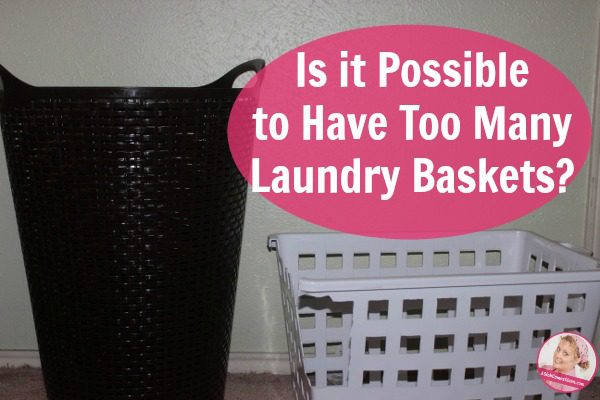 How many laundry baskets do you actually need Is it possible to know I know exactly how many we need, and here's how.