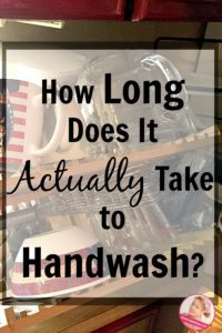 The Reality of Handwashing Dishes for a Family of Five