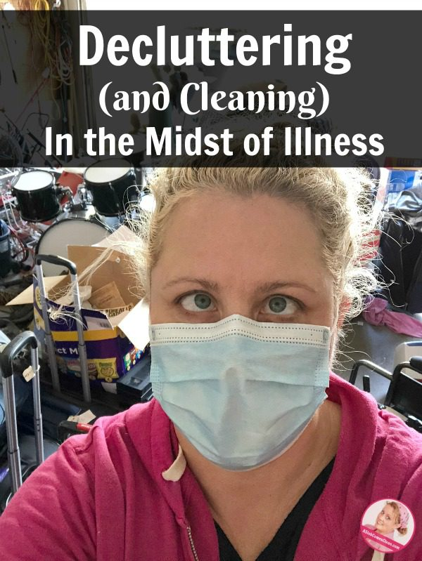decluttering and cleaning in the midst of illness make progress better at ASlobComesClean.com (1)
