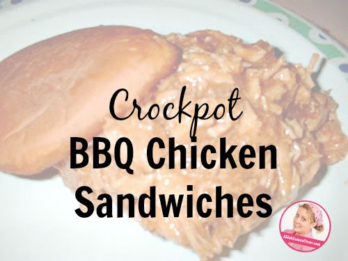 Crockpot BBQ Chicken Sandwiches - A Slob Comes Clean