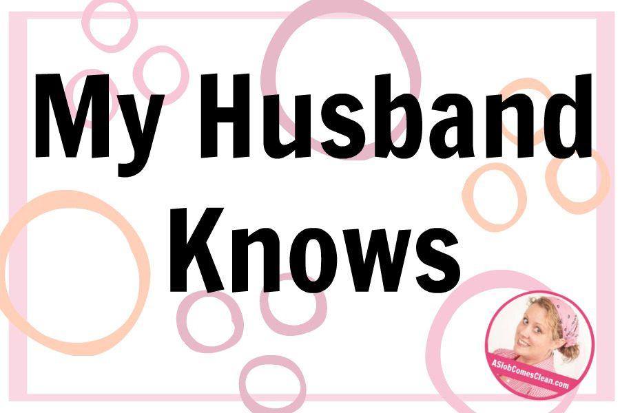 My husband knows deslobification blog at ASlobComesClean.com