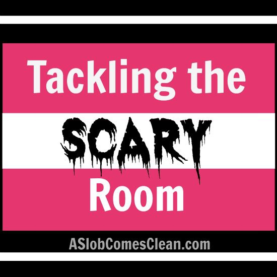 Tackling the Scary Room - A Slob Comes Clean