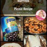 Chicken and Black Bean Burritos – Picnic Recipe