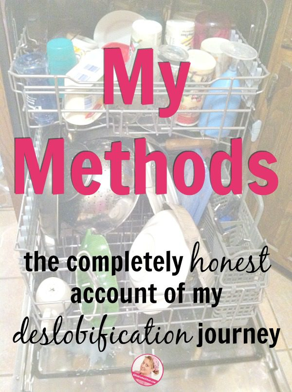 My Methods the completely honest account of my deslobification journey at ASlobComesClean.com