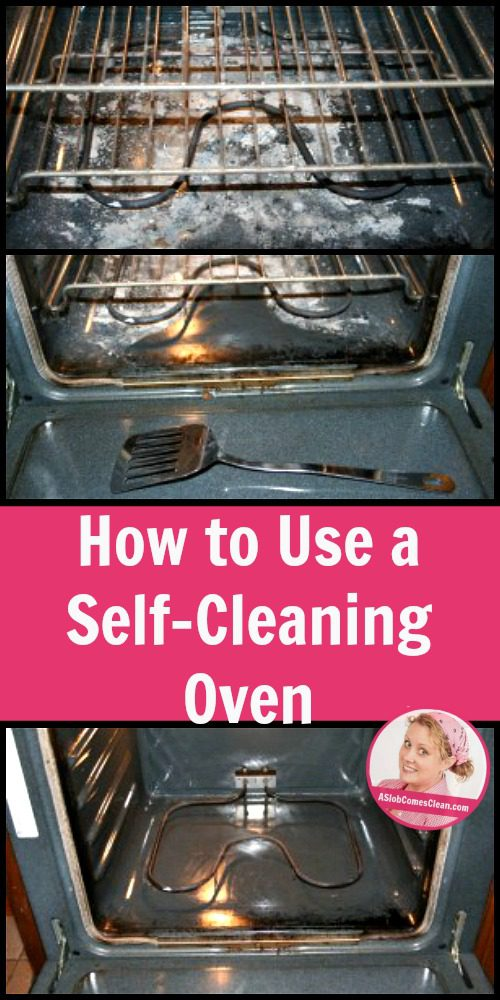 how to work the self cleaning smeg oven