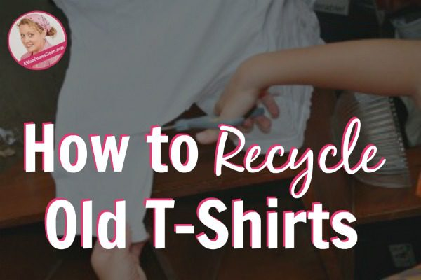 How to Recycle Old T-Shirts
