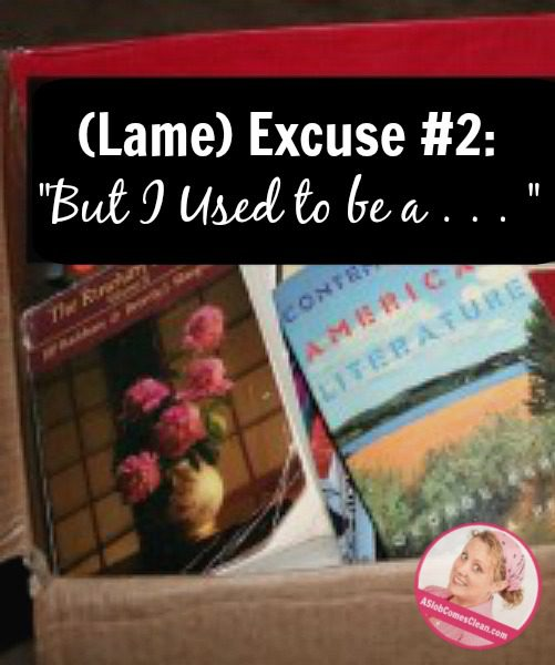 lame-excuse-lit-books-pin at ASlobcomesClean.com