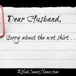 Dear Husband . . . I'm Sorry.