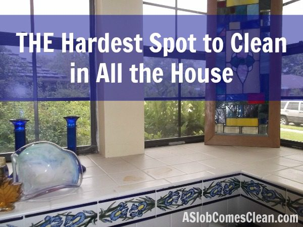 The Most Difficult Place to Clean in the Entire House