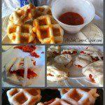 Waffle-Iron Pizza Pockets easy recipe at ASlobComesClean.com