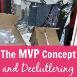 The MVP Concept and Decluttering pin at ASlobComesClean.com_
