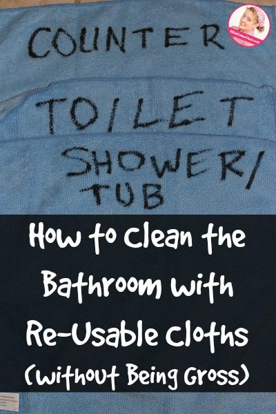 How To Use Reusable Cloths To Clean The Bathroom Without Being Gross - What to use to clean bathroom