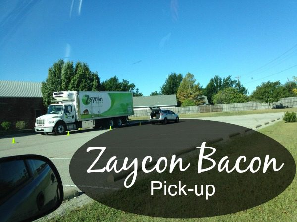 How a Zaycon Pick-Up Works at ASlobComesClean.com