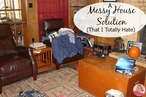 A Messy House Solution That I Totally At Aslobcomesclean