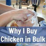 Why I Purchase Chicken in Bulk Zaycon at ASlobComesClean.com