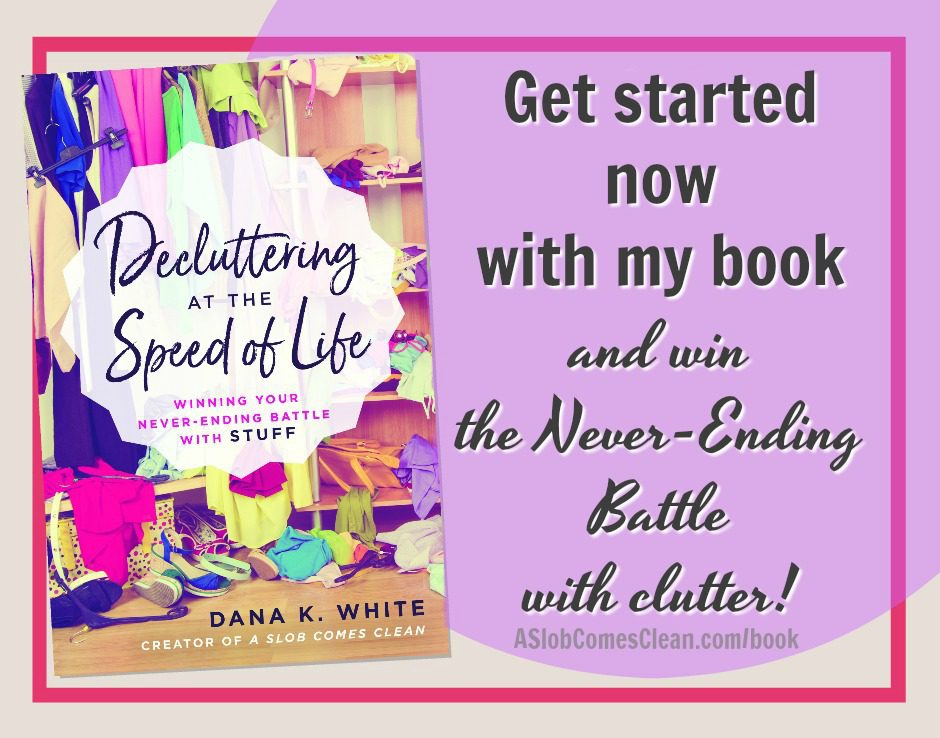 Win the Clutter Battle Get My Book Now