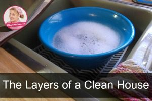 Five Truths about a Clean Kitchen even without a dishwasher at ASlobComesClean.com sidebar