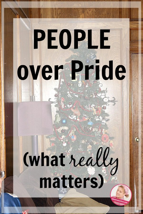 People over Pride Whate Really Matters at ASlobComesClean pin 2