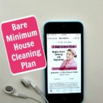 podcast 126 podcast 126 Bare Minimum House Cleaning Plan at ASlobComesClean.com pin