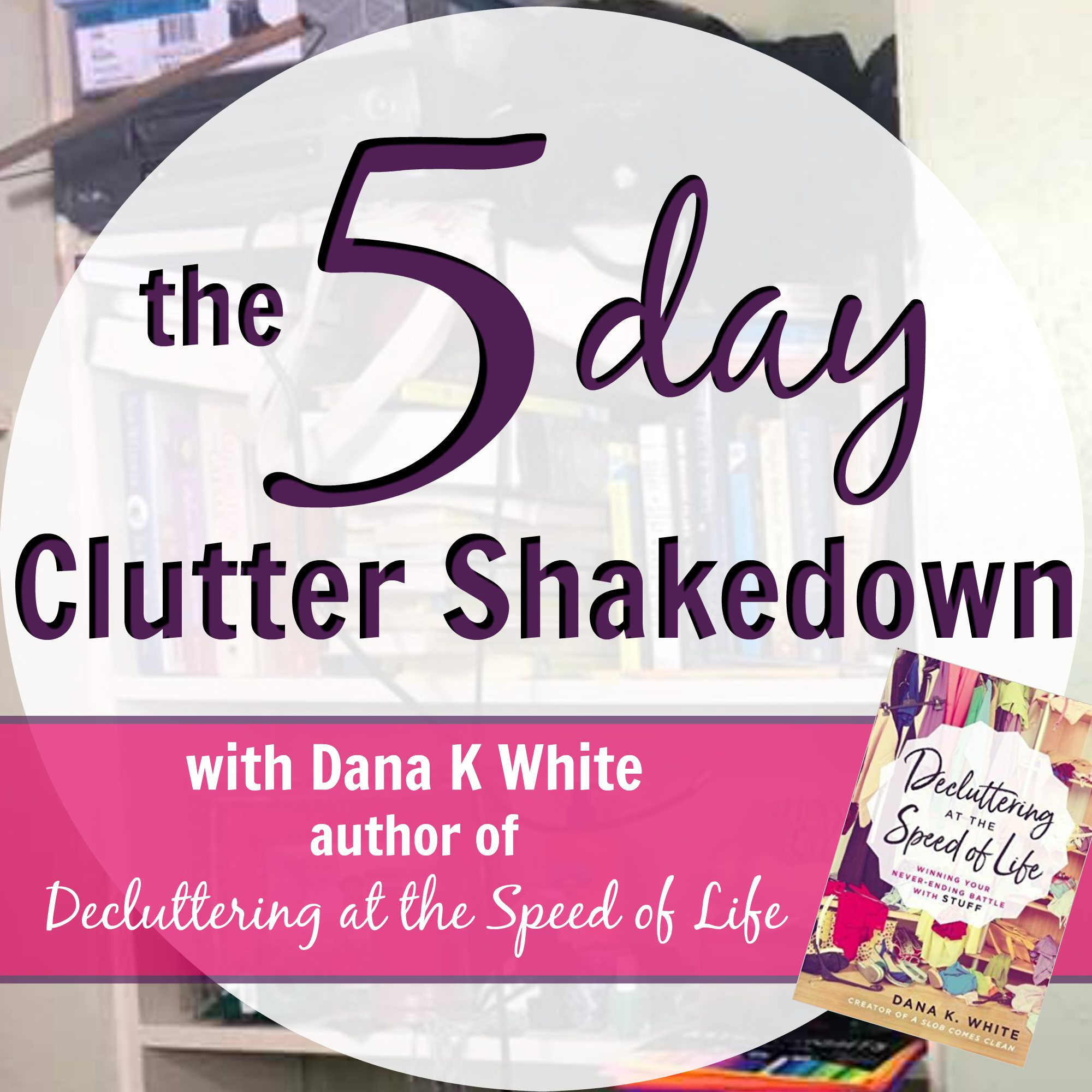 Want to see the principles in action? Check out my video course: The 5 Day Clutter Shakedown.