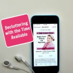 Decluttering with the Time Available podcast 255 at ASlobComesClean.com