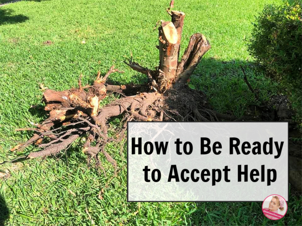 How to Be Ready to Accept Help at ASlobComesClean.com