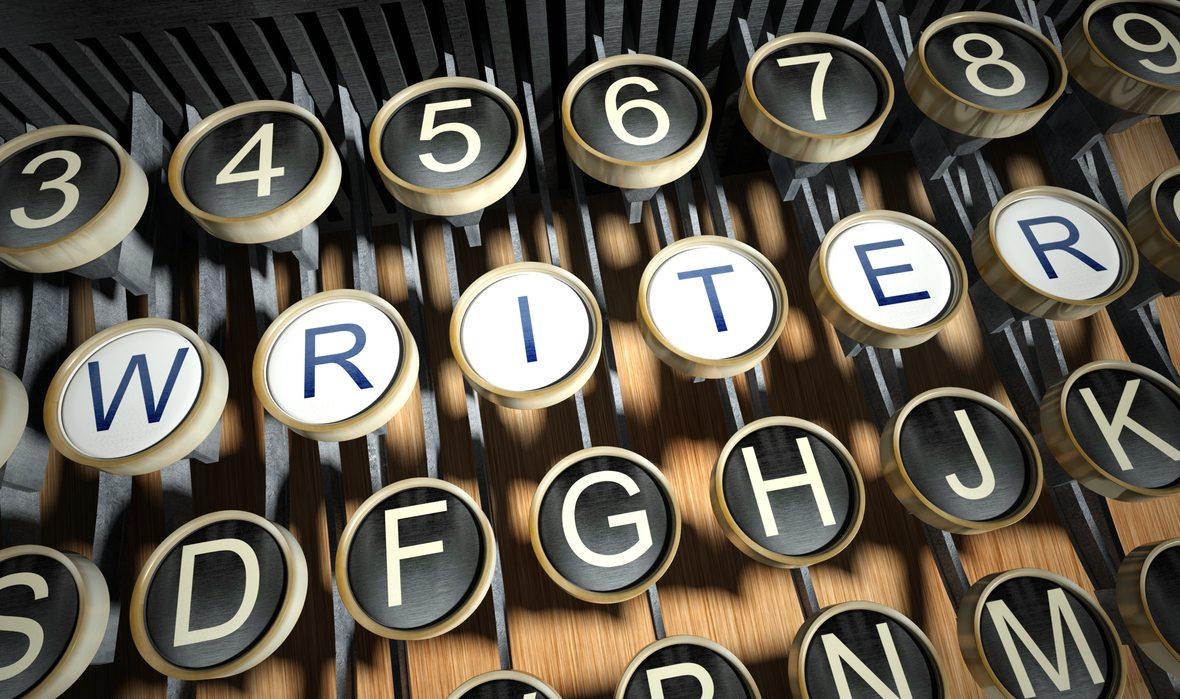 writing journey course writer_on_typewriter_deposit_photos